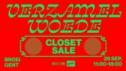 Verzamelwoede Closet Sale 3