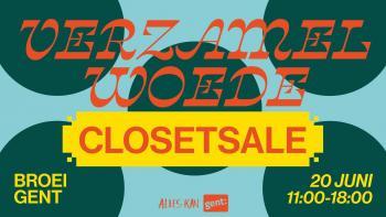 Verzamelwoede Closet Sale