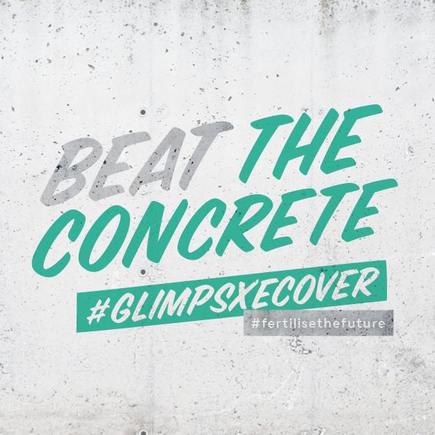 Beat the concrete